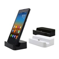 apfel wiege ladung großhandel-Universal Dock Ladestation für iPhone 7 7 Plus 8 8 Plus Tischladestation Dock Station für iPhone X mit Kleinpaket