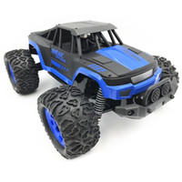 Wholesale rc speed controller brushed resale online - 1 High Speed km h Bigfoot Car Remote Control Model Off Road Vehicle Electronic RC Car Toys For Boys Kids