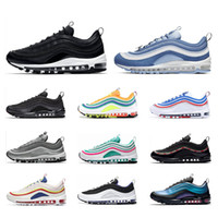 Wholesale quality running shoes for men for sale - Group buy 2019 Sneakers for men women shoes New arrived Bright Citron Metalic Gold Mint Green mens trainers Top quality Sports Running shoes