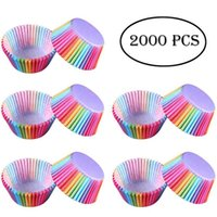 Wholesale moulded case for sale - Group buy Rainbow Muffin Cake Cupcake Cup Cake Mould Case Bakeware Maker Mold Tray Baking Jumbo Cake Tools Free DHL
