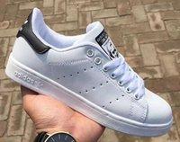 baixo corte sapatos de caminhada venda por atacado-Sapatos de corrida clássico Para Smith Stan Homens Mulheres Low Cut Lace Up Calçados Esportivos Ao Ar Livre Unisex Zapatillas Sneakers Caminhadas Sapatos de Caminhada