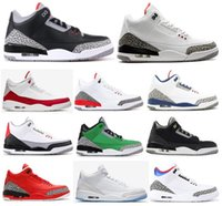 zapato libre negro al por mayor-Zapatillas de baloncesto nuevas Katrina True Blue White Black Black Cement para hombres Zapatillas NRG Free Throw Line JTH Tinker Red Grateful Seoul Korea con caja