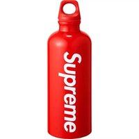 halter flaschenrahmen grün großhandel-sup Flasche Wasser Sigg Traveler 0,6 l rot SS18 Flaschen für Radfahren Fahrrad rote Wasserflasche für Camp Wandern