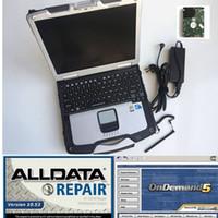 software de diagnóstico de camiones volvo al por mayor-Software automático 2019 alldata mitch * ll on d * mand 2015 en disco duro 1TB instalado en CF30 4gb laptop cf-30 para diagnóstico de camión de automóvil