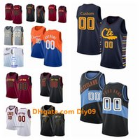 Wholesale jersey cavaliers for sale - Group buy Custom Cleveland Cavaliers Jersey Collin Sexton Larry Nance Jr Cedi Osman Tristan Thompson Swingman Basketball Jerseys W