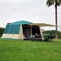 ingrosso tende di alta qualità-Tenda da campeggio grande per esterno 10-12 persone Camera / campeggio di lusso di alta qualità per 2 persone 1 Tenda da campeggio per esterno