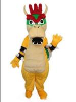 süper mario maskot kostüm toptan satış-2019 Fabrika doğrudan satış Profesyonel özel kuba Charizard Maskot Kostüm Süper Mario Ejderha Dinozor Karakter Giysileri
