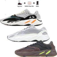 Wholesale 500 running shoe resale online - mnvn New V2 V3 Azael Alvah Kanye West Carbon Blue athletic shoes Alien Mist Running Shoes Men Women Sneakers