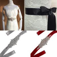 ingrosso perla del cinturino del vestito da cerimonia nuziale-Fascino di moda da donna da sposa abito cintura cintura cintura di cristallo cintura cinghie lucido strass signora nastro perla cinturino cinturino formale