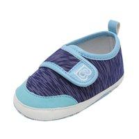 sandálias de sola de tecido venda por atacado-2019 Verão Meninos Do Bebê Estrela Impressão Oco Roman Fashion Sandálias de Tecido de Algodão Anti-Slip Sapatos de Sola Macia # YL1