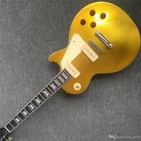 mejores pastillas de guitarra eléctrica al por mayor-Envío gratis custom shop 1956 top-goldtop 2P90 PICKUPS guitarra eléctrica mejores instrumentos musicales