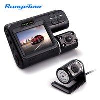 Wholesale motion detection camera lights resale online - Range Tour Car DVR Camera i1000s quot LCD G Sensor Motion Detection HD P IR Lights Dual Lens Dash Cam