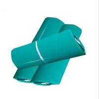 enveloppes vertes achat en gros de-Sacs postaux verts Pochettes postales Enveloppes d'expédition en plastique Sacs de courrier express pour le transport Emballage Enveloppe d'expédition