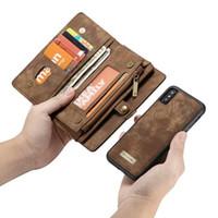ingrosso caso della borsa di lusso di iphone-Custodia protettiva per telefono da polso per Iphone Ix Xr Xs Max 6 / 6s / 7/8 Plus Coque Custodia protettiva in pelle di lusso Fundas Etui Accessori J190629