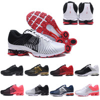 Wholesale fashion shox online - New Shox Deliver Men Women Running Shoes Muticolor Fashion DELIVER OZ NZ Outdoor Athletic Trainers Sports Sneakers