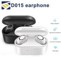 écouteurs oreille achat en gros de-D015 TWS Sans Fil Bluetooth 5.0 Casque Stéréo In-Ear Écouteurs Mains Libres Air Casque Écouteurs Sport Casque Pods avec Micro pour Téléphone