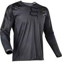 Wholesale red long sleeve cycling jersey resale online - Promotion Cycling Series Jersey Trendy New Best Selling Bicycle Clothing Long Sleeve Top Racing Motorcycle Bike Off road Fox TLD T shirt