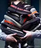 zebra red shoes venda por atacado-2019 Static Sesame Butter v2 Semi Amarelo Congelado Beluga 2.0 Orange Zebra Preto Vermelho Kanye West Tênis