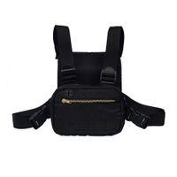 mini saco de cintura para homens venda por atacado-2019 Mini Homens No Peito Rig Streetwear Esportes Ao Ar Livre Saco Da Cintura Escalada Bolsa de Ombro Telefone Dinheiro Cinto Tático Peito