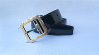 Wholesale fast belt resale online - HOT SALES Love Very fast shipping Fashion Belt Leather Men Good Genuine quality Belt Smooth Buckle Mens Belts with box M9808