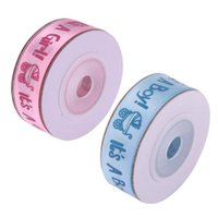 Wholesale gifts for baby boy party for sale - Group buy 10Yards Roll IT S A BOY GIRL Satin Ribbons Favors Ribbon for Kids Baby Birthday Party Supplies Baby Shower Decoration