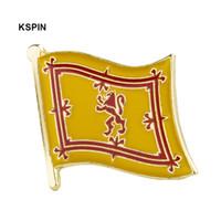 кнопки в форме черепа оптовых-Шотландия Лев флага, Штырь отворотом флага значок штырей отворотом брошь KS0240