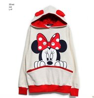 Wholesale couple clothes outfits for sale - Group buy 2020 Korean style women s clothing Couple Hoodie for fat mm plus plus size with hat cartoonhoodie couple outfit