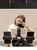 Wholesale photo frames multi function resale online - Cellphone Live Support Tripod Landing Multi function Anchor Mobile Phone Frame Repair Light Face Net Red Beat Chattering Fast Hand Photo Rec