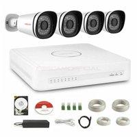 dôme de kit de vidéosurveillance achat en gros de-Foscam 8 canaux xPoE 4X 720P Caméra de sécurité CCTV 1TB HDD Système de surveillance