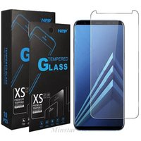 Wholesale samsung j7 screen protector for sale – best Metro Boostmobile Phone Clear Glass for LG Stylo K51 Samsung A10e J2 Core A6 J373 J3 Refine J737 J7 Star D Phone Screen Protector