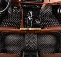 teppichbodenmatten für autos großhandel-Custom Car Fußmatten für DS5 DS5LS DS6 DS7 5 Sitze Automobil-Innenausstattung Bodenteppiche Auto Teppiche Schutz J631