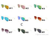 radfahren sonnenbrille verkauf großhandel-9 Farben geben Verschiffen frei HEISSE VERKAUFS-Sommer SCHUTZBRILLE-Mann UV400 Schutz Sonnenbrille-Art und Weisemannfrauen Sonnenbrilleunisexgläser, die Gläser radfahren