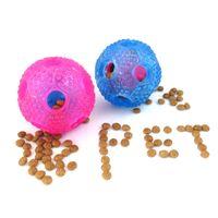 Wholesale plastic training balls resale online - Food Dispenser Ball Puppy Dog Pet Dog Leakage Food Ball Golden Retriever Training Toy Dog Chew Ball