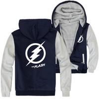 erkek ceketleri toptan satış-Mens Flaş Kapüşonlu Ceketler Genç Erkek Beyzbol Ceket Kış Sıcak Kalın Mont
