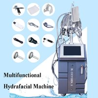 Wholesale microdermabrasion in1 resale online - 10 in1 Water Dermabrasion Hot Cold Hammer BIO Ultrasonic Machine Microdermabrasion Hydro Peel Hydrafacial Hydra Water Peeling Spa Equipment
