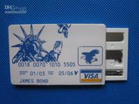 pequeña herramienta de selección al por mayor-2016 James Bond Pocket Lock Pick Set de herramientas (5 piezas) Durable Ultra Small Easy Carry S037