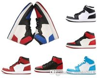ingrosso couture di scarpe-Scarpe da basket 1s Shoes Nike air jordan retro 1 basketball Homage to Home L'UNC COUTURE Union Phantom mens donna designer trainer rosso nero taglia 5.5-13