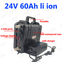Wholesale 12v li ion charger for sale - Group buy GTK waterproof V AH lithium ion BMS s li ion bateria for golf cart Solar energy storage lighting Fishing A Charger