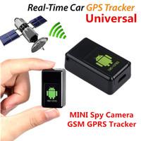 caméras activées par la voix achat en gros de-Appareil photo Alertor Tracker GPS sécurisé Dispositif anti-perte Activé GPS Locator Télécommande HD Caméra Enregistrement vocal Enregistrement