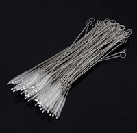 Simple Drink Straw Cleaning Brush Kit Extra Long Straw Cleaner Cleaning Brush 1.75cm Stainless Steel Straws