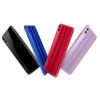 polegada octa core telefone venda por atacado-Original huawei honor 8x real 4g lte smartphone 6.5 polegada Tela Cheia 4G RAM 64G ROM Octa Núcleo 20.0MP Celulares Unloked