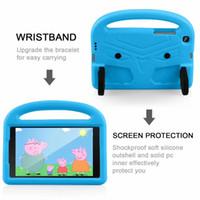 Wholesale kindle case for kids resale online - For Samsung T330 T337 T510 T515 T380 T385 T377 Kindle HD8 Fire7 Round Corners Design Protection Kids Friendly Case