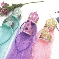 fancy hairbands groihandel-Prinzessin Crown Mädchen Stirnband Phantasie Regenbogen Baby Headwear Foto Requisiten Party Haarband Haarbänder Kinder Haarschmuck