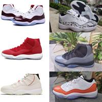 ingrosso scarpe dimensioni 23-Scarpe da basket Concord 11 per Gym Red Chicago Midnight Navy 11s Platinum Tint 45 sneakers 23 scarpe sportive scarpe firmate TAGLIA 36-47