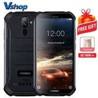 doogee phone toptan satış-DOOGEE S40 Sağlam Telefon 2 GB + 16 GB IP68 / IP69K Su Geçirmez Toz Geçirmez Darbeye Dayanıklı MIL-STD-810G, 4650mAh Pil Çift Arka Kameralar Android 9.0