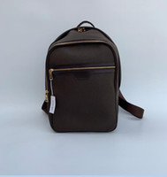 Wholesale plain white backpacks resale online - Hot Sell Classic Fashion bags women men PU Leather Backpack Style Bags Duffel Bags Unisex Shoulder Handbags