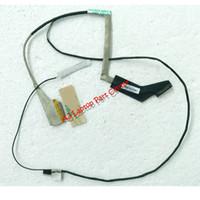 kablolar toptan satış-Orijinal ThinkPad E440 Için LCD LVDS LED Kablo Kamera Kablosu 04X4778 DC02C004G00