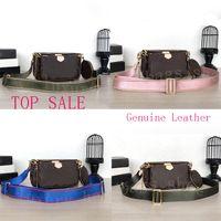 Wholesale three pieces handbags resale online - TOP sale piece set designer bags women crossbody bag Genuine Leather luxury handbags purses designer lady tote bags Coin Purse three item