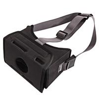 ingrosso universal 3d vr-Black Movie VR Game Fashion Home Universal Virtual Reality Durevole Stretched Strap Occhiali 3D EVA Montato per interruttore