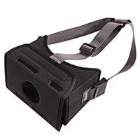 siyah gözlük kayışı toptan satış-Siyah Film VR Oyunu Moda Ev Evrensel Sanal Gerçeklik Dayanıklı Gerilmiş Kayış 3D Gözlük EVA Anahtarı Için Monte